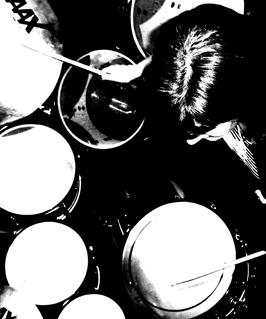 Wendy Brown drumming